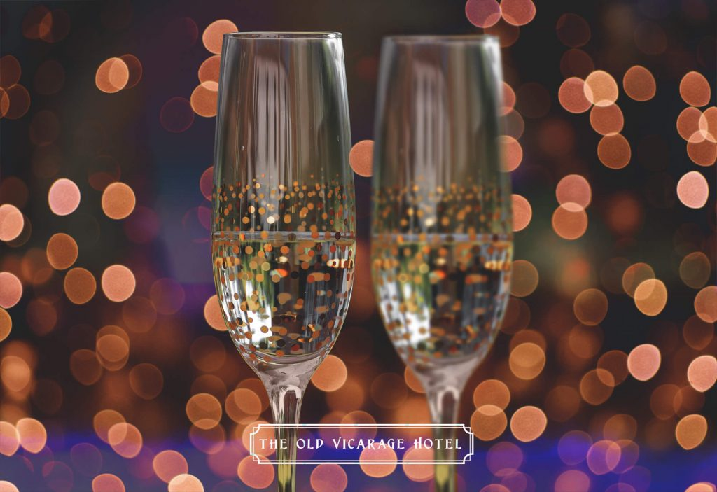 Prosecco new years eve champagne 2020 The Old Vicarage Gardens Full Resolution IMPACT 20twenty web logo
