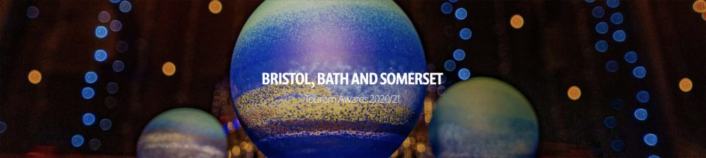 Somerset Tourism Awards 2020 21 Finalist banner The Old Vicarage Hotel Bridgwater copy scaled 1