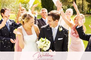 The Old Vicarage Hotel Bridgwater Wedding Venue Confetti Couple Center Banner 2048x1365 1