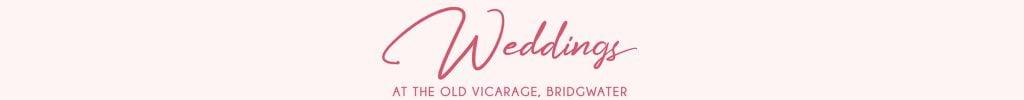 Weddings at The Old Vicarage Bridgwater WEDDING HEADER BANNER swirls asset