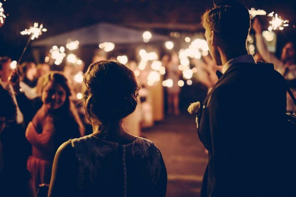 sparklers winter wedding wonderland brochure couple happy bridgwater somerset wedding unique bespoke custom