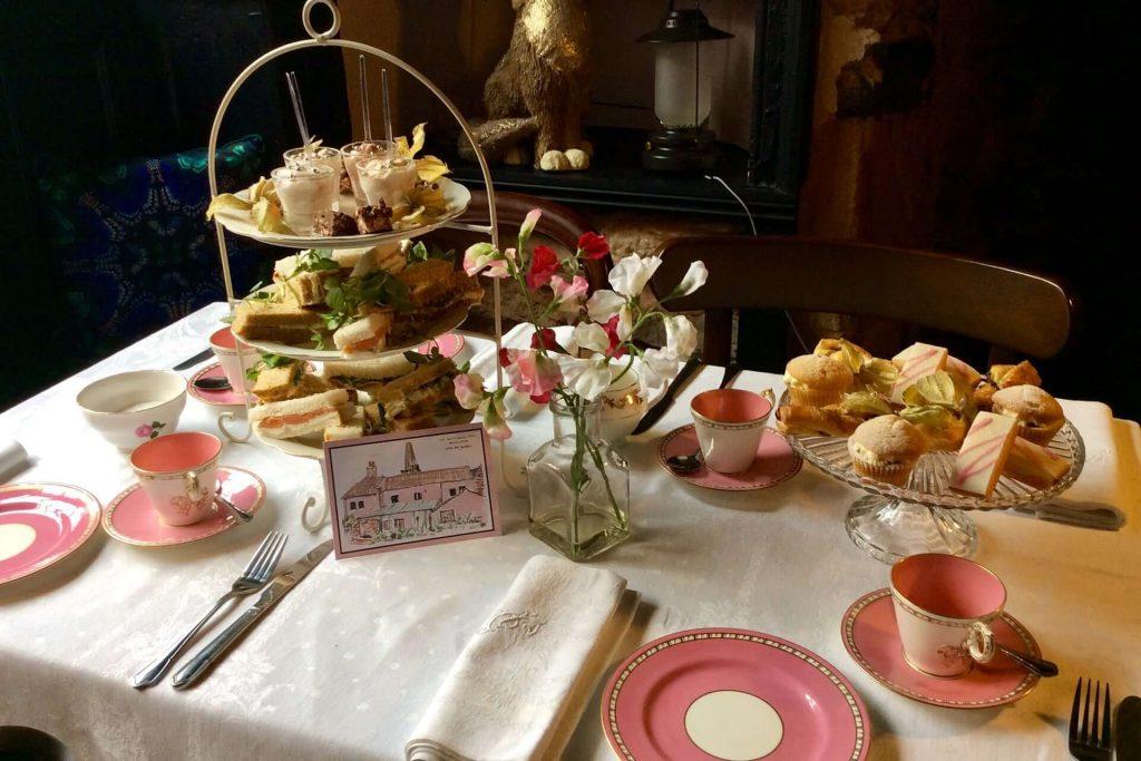 The Old Vicarage Hotel Bridgwater Afternoon Tea