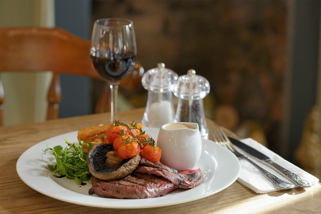 The Old Vicarage Hotel Bridgwater Lunch