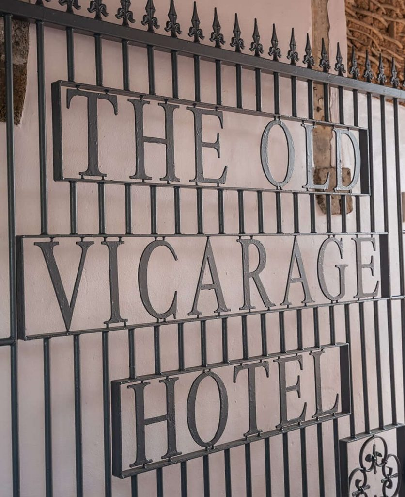 The Old Vicarage Hotel Gate
