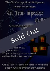 Old Vicarage Hotel Murder Mystery Event Sold Out