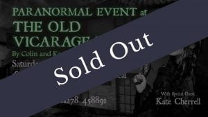 Old Vicarage Hotel Paranormal Event Sold Out 1