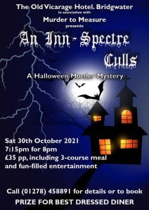The Old Vicarage Hotel Bridgwater Murder Mystery Night
